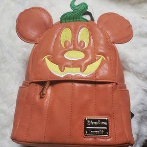 Loungefly Disney park pumpkin back pack